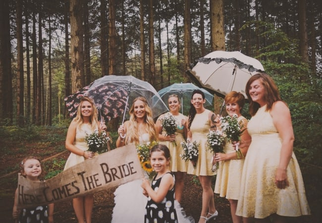Taken By Thunder ~ Liam & Lorna's Bedale Wedding