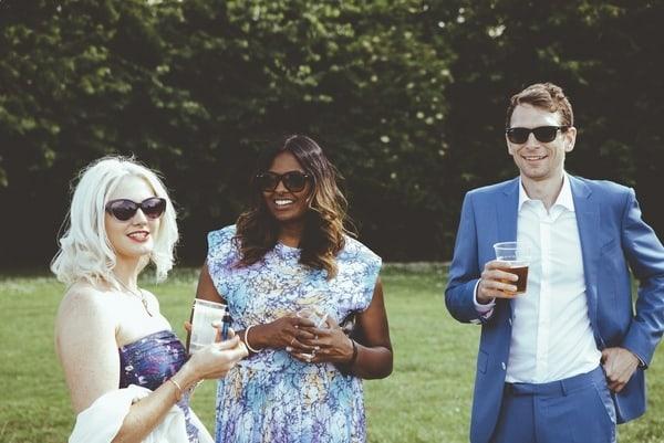 A Not So Secret Garden ~ Rufus & Claire's Green Hammerton Wedding